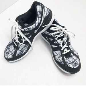 Nike Dual Fusion Lite Pattern Athletic Shoes 9.5